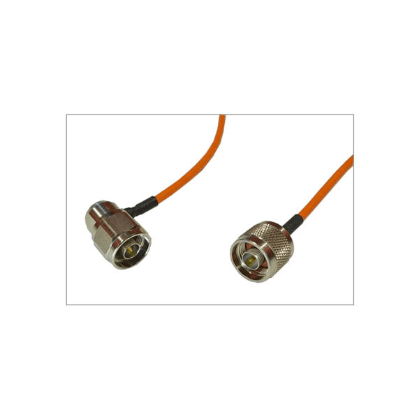 75 cm RF Coaxial Semi-Flexible Cable N-Type Male to N-Type Male Right Angle
