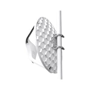 Dual chain 24.5dBi 5GHz CPE/Point-to-Point Integrated Antenna, 600Mhz CPU, 64MB RAM