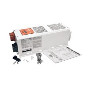 The APSX4048SW 4000W APS X Series 48V DC 220/230/240V AC Inverter/Charger is a reliable power source