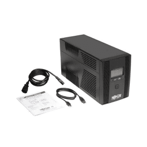 SMX1500LCDT UPS provides battery backup and AC power protection against blackouts
